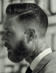 Men Hair Trends / The Undercut Quiff